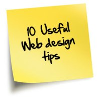 TOP 10 WEB DESIGN TIPS